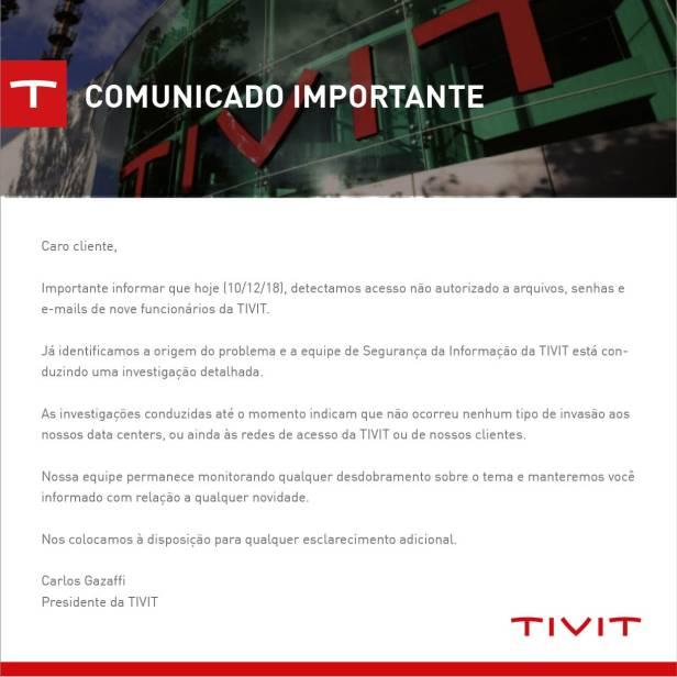 TIVIT Comunicado01